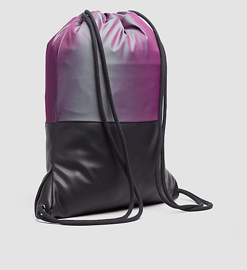 Flat Backpack - IRIDESCENT/BLACK - CALVIN KLEIN  - detail image 1