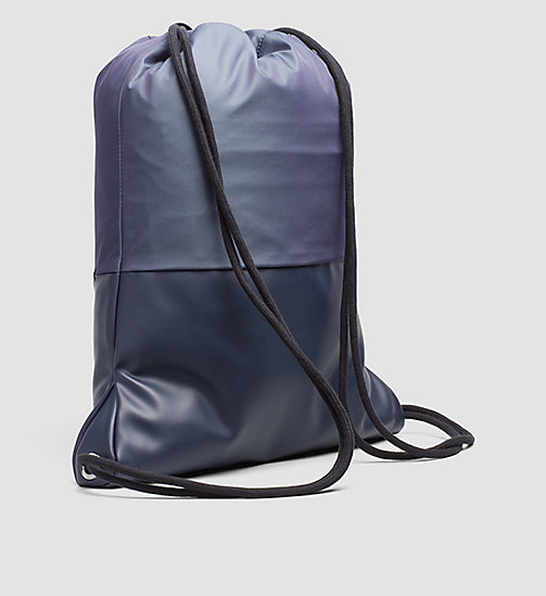 Flat Backpack - OMBRE BLUE/BLUE NIGHT - CALVIN KLEIN SHOES & ACCESSORIES - detail image 1