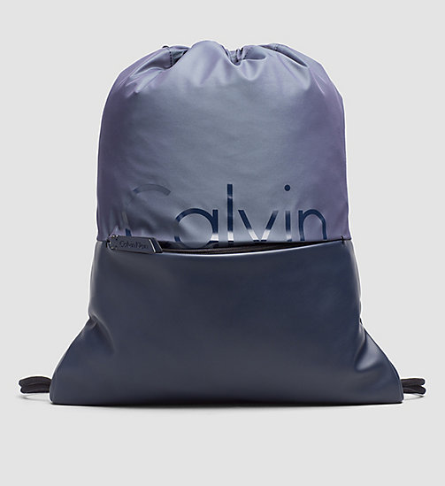 CALVINKLEIN Flat Backpack - OMBRE BLUE/BLUE NIGHT - CALVIN KLEIN BACKPACKS - main image