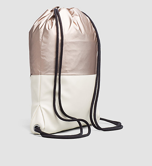 Flat Backpack - COPPER/DUSTED IVORY - CALVIN KLEIN  - detail image 1