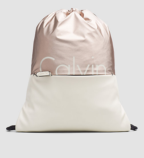 CALVINKLEIN Flat Backpack - COPPER/DUSTED IVORY - CALVIN KLEIN BACKPACKS - main image
