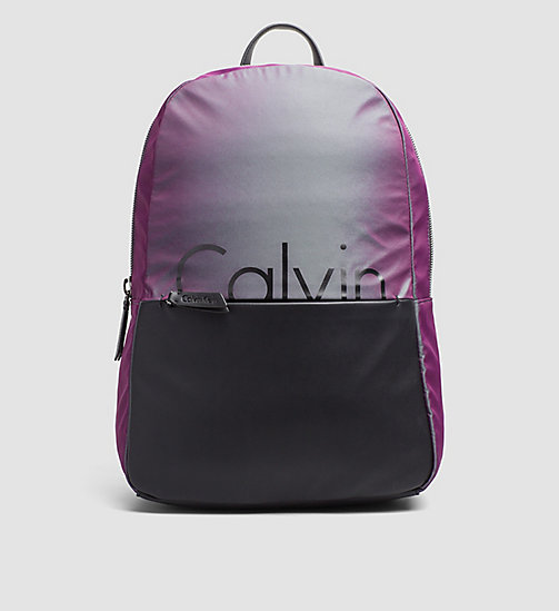 Backpack - IRIDESCENT/BLACK - CALVIN KLEIN SHOES & ACCESSORIES - main image