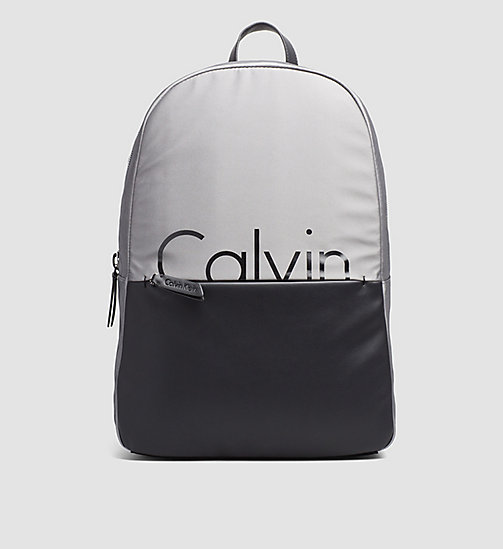 Backpack - GREY/BLACK - CALVIN KLEIN SHOES & ACCESSORIES - main image