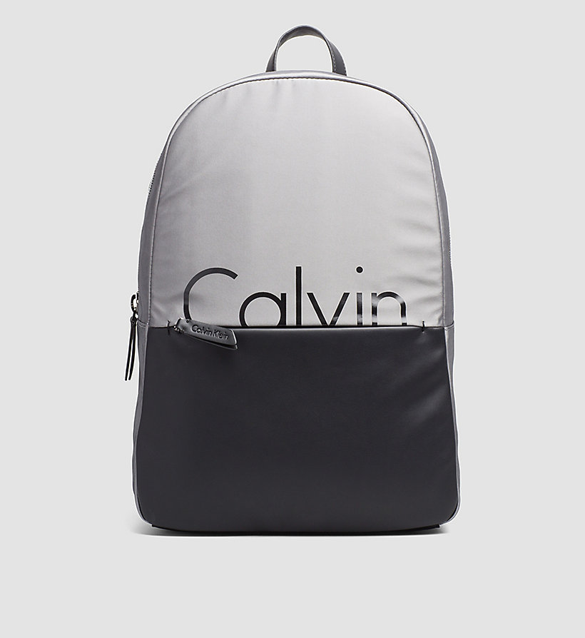 CALVINKLEIN Backpack - GREY/BLACK - CALVIN KLEIN SHOES & ACCESSORIES - main image