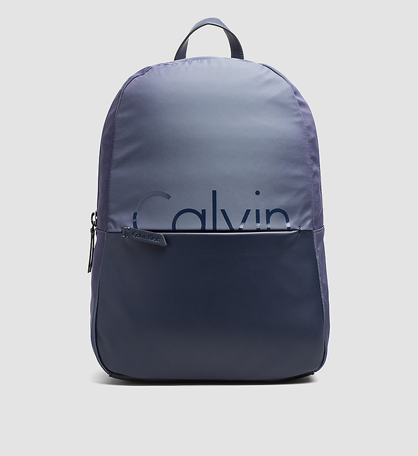 CALVINKLEIN Backpack - OMBRE BLUE/BLUE NIGHT - CALVIN KLEIN SHOES & ACCESSORIES - main image