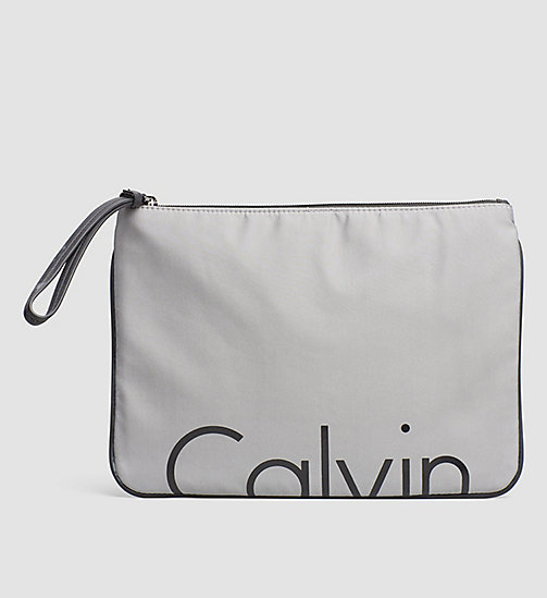 Clutch - GREY/BLACK - CALVIN KLEIN  - main image