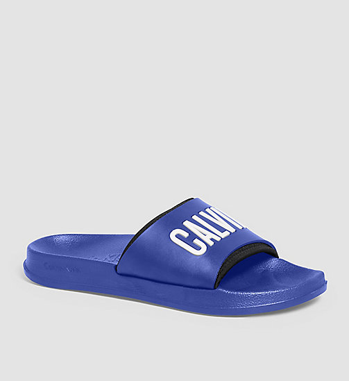 CALVINKLEIN Slippers - Intense Power - SURF THE WEB - CALVIN KLEIN SHOES - main image