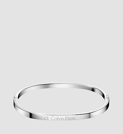 CALVIN KLEIN Closed Bangle - Calvin Klein Hook KJ06MD0001SST