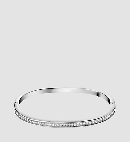 CALVIN KLEIN Closed Bangle - Calvin Klein Hook KJ06MD0402SST