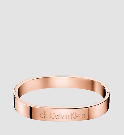 CALVIN KLEIN Closed Bangle - Calvin Klein Hook KJ06PD1002PGD