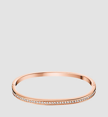 CALVIN KLEIN Closed Bangle - Calvin Klein Hook KJ06PD1401PGD
