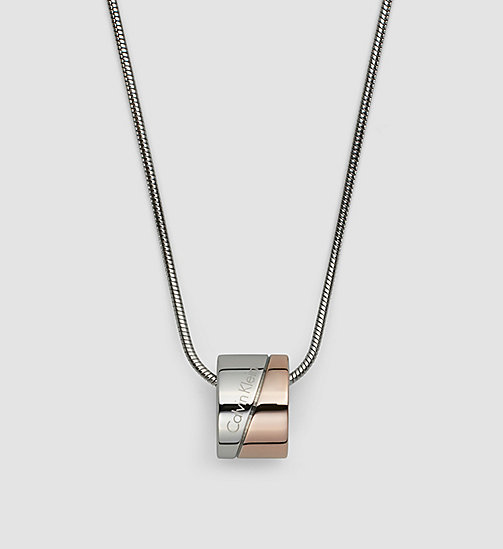 CALVINKLEIN Necklace - Calvin Klein Hook - SST / PINK PVD - CALVIN KLEIN WATCHES & JEWELLERY - detail image 1