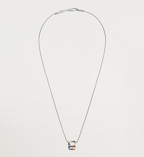 CALVINKLEIN Necklace - Calvin Klein Hook - SST / PINK PVD - CALVIN KLEIN WATCHES & JEWELLERY - main image
