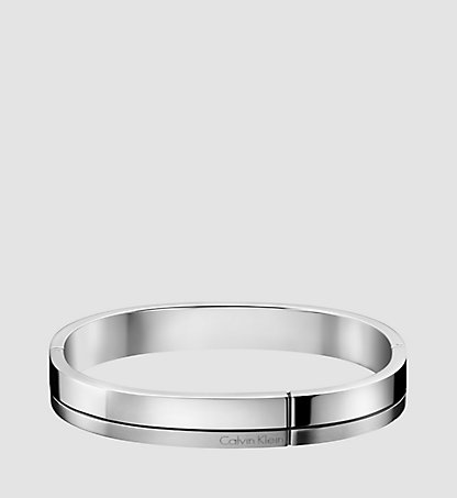 CALVIN KLEIN Closed Bangle - Calvin Klein Constructed KJ3PMD0901SIL