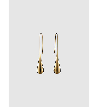 CALVIN KLEIN JEANS Earrings - Calvin Klein Ellipse KJ3QJE1001GLD