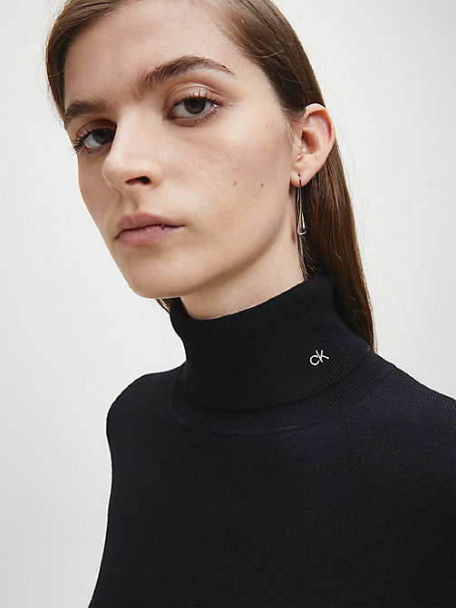 CALVINKLEIN Earrings - Calvin Klein Ellipse - STAINLESS STEEL - CALVIN KLEIN WATCHES & JEWELLERY - detail image 1