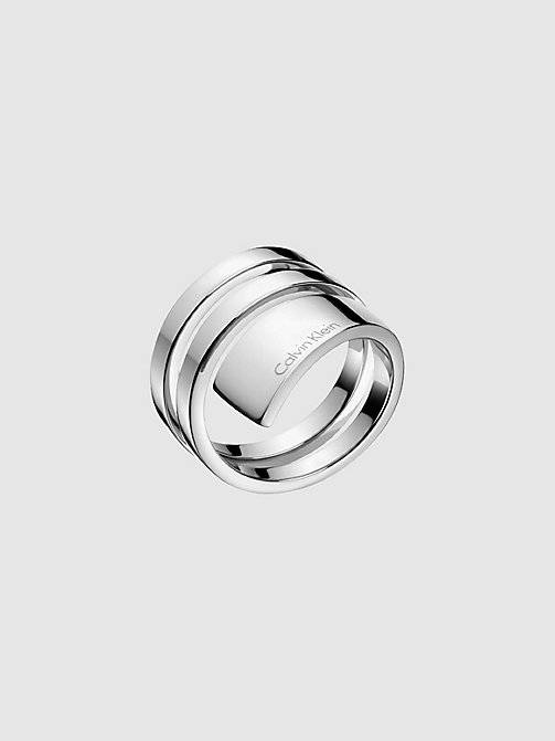 CALVINKLEIN Ring - Calvin Klein Beyond - SILVER - CALVIN KLEIN WATCHES & JEWELLERY - main image