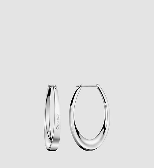 CALVINKLEIN SHADE - SILVER - CALVIN KLEIN EARRINGS - main image
