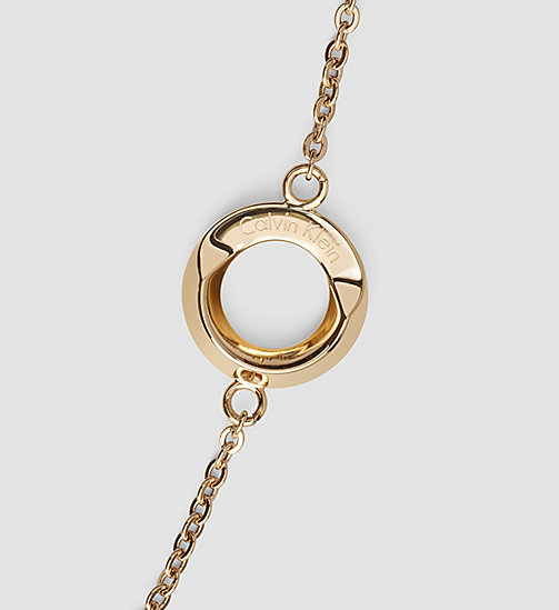 CALVINKLEIN Necklace - Calvin Klein Beauty - YELLOW PVD - CALVIN KLEIN WATCHES & JEWELLERY - detail image 1