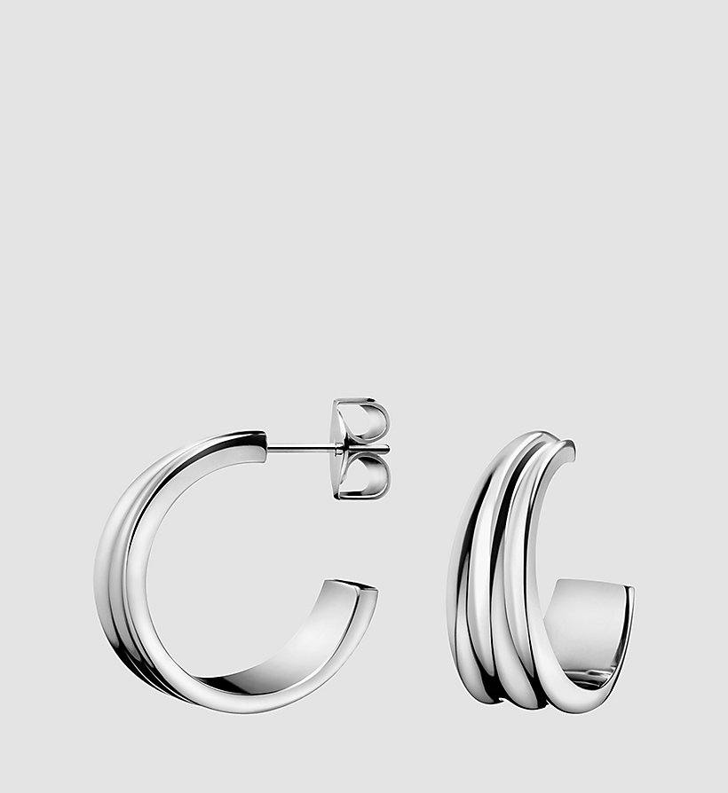 CALVINKLEIN Earrings - Calvin Klein Glorious - SILVER - CALVIN KLEIN SHOES & ACCESSORIES - main image