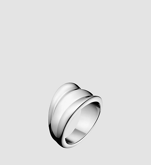 CALVINKLEIN Ring - Calvin Klein Glorious - SILVER - CALVIN KLEIN WATCHES & JEWELLERY - main image