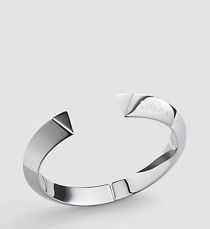 CALVIN KLEIN Open Bangle - Calvin Klein Shape KJ4TMD0001SST