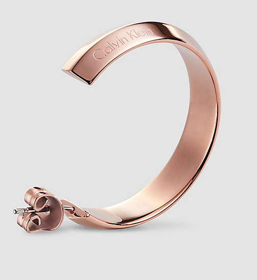 CALVINKLEIN Earrings - Calvin Klein Shape - PINK - CALVIN KLEIN WATCHES & JEWELLERY - detail image 1