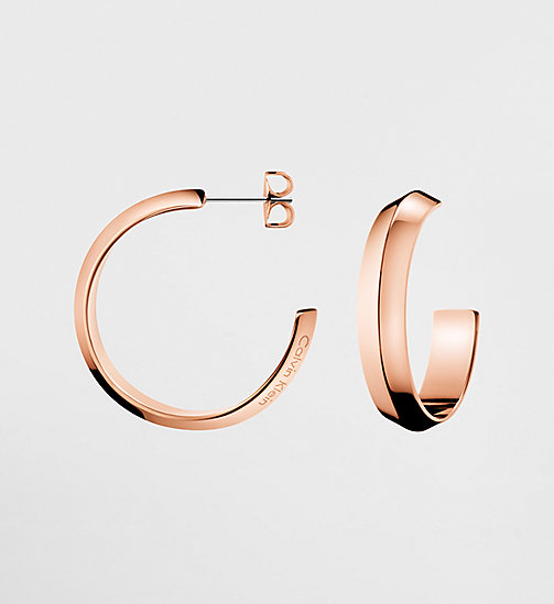 CALVINKLEIN Earrings - Calvin Klein Shape - PINK - CALVIN KLEIN WATCHES & JEWELLERY - main image