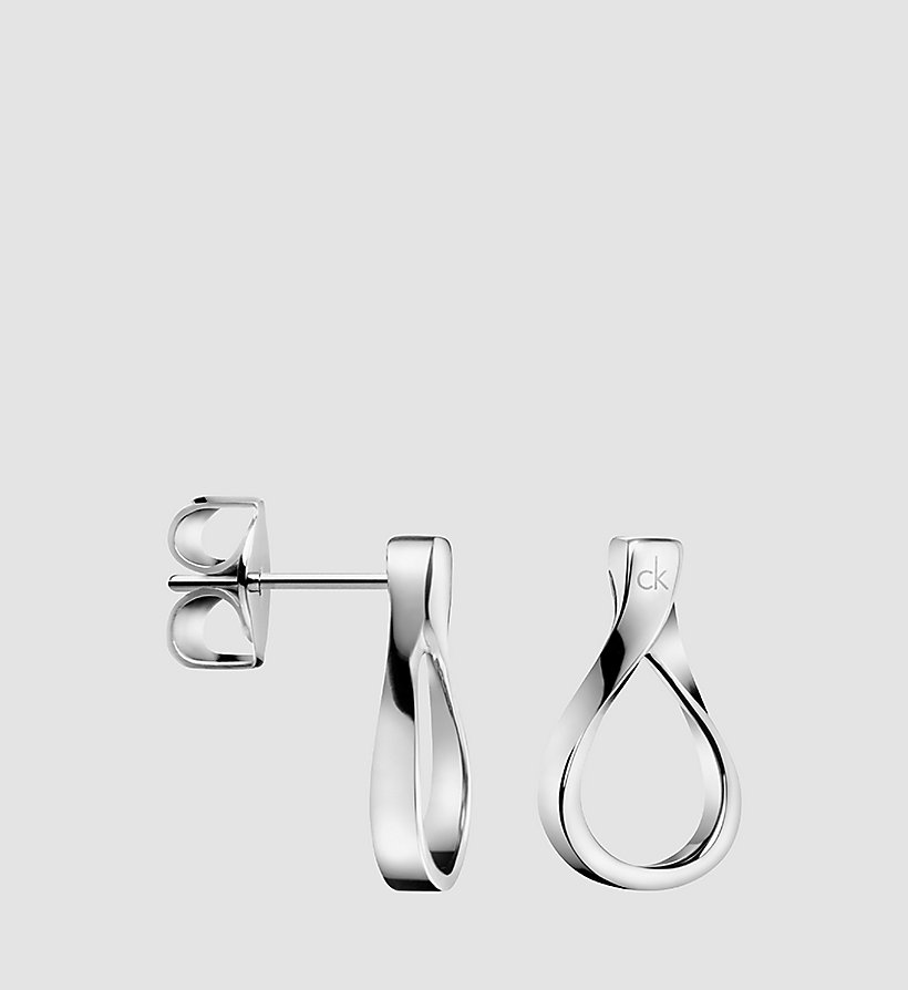 CALVINKLEIN Earrings - Calvin Klein Light - STAINLESS STEEL - CALVIN KLEIN SHOES & ACCESSORIES - main image