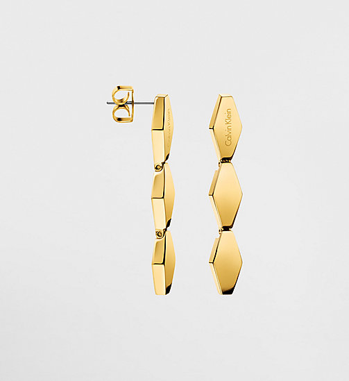 CALVINKLEIN Earrings - Calvin Klein Snake - YELLOW PVD - CALVIN KLEIN WATCHES & JEWELLERY - main image