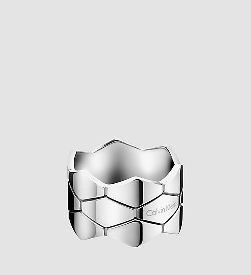 CALVINKLEIN Ring - Calvin Klein Snake - STAINLESS STEEL - CALVIN KLEIN WATCHES & JEWELLERY - main image