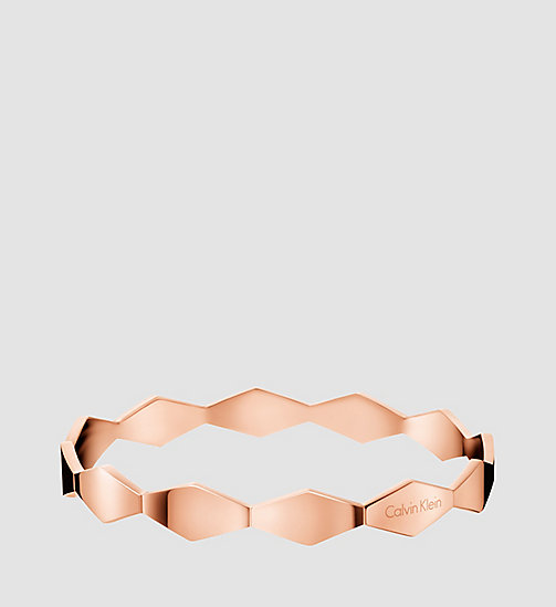 CALVINKLEIN Round Bangle - Calvin Klein Snake - PINK PVD - CALVIN KLEIN WATCHES & JEWELLERY - main image