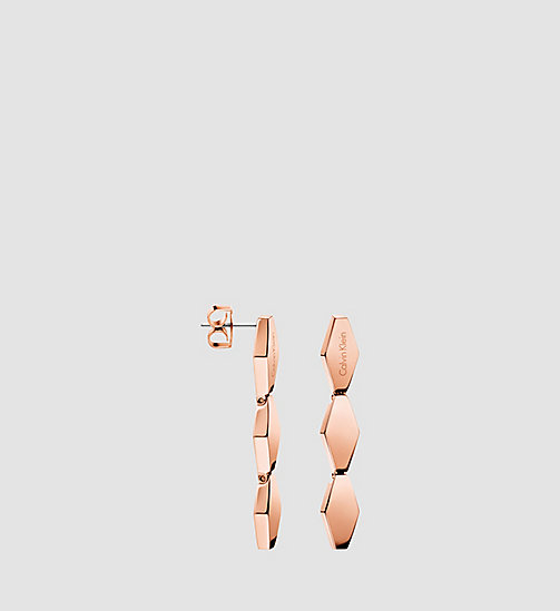 CALVINKLEIN SNAKE - PINK PVD - CALVIN KLEIN WATCHES & JEWELLERY - main image