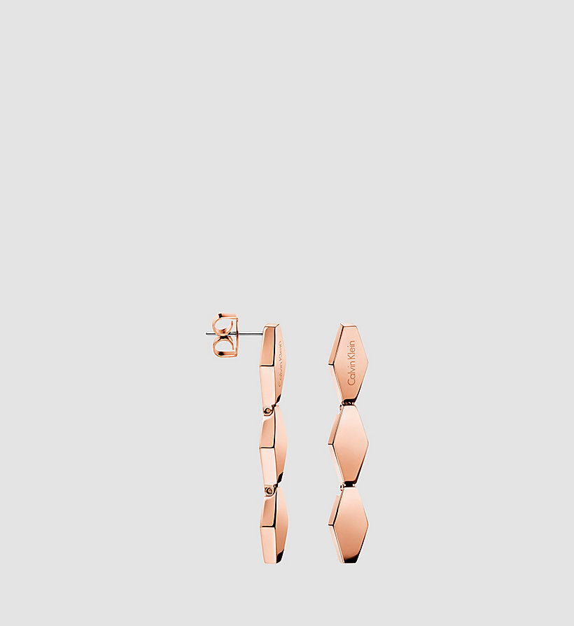 CALVINKLEIN Earrings - Calvin Klein Snake - PINK PVD - CALVIN KLEIN SHOES & ACCESSORIES - main image