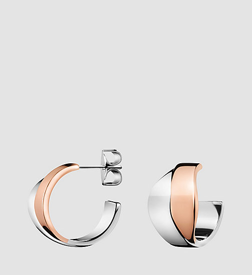 CALVINKLEIN Earrings - Calvin Klein Senses - SST / PINK - CALVIN KLEIN WATCHES & JEWELLERY - main image