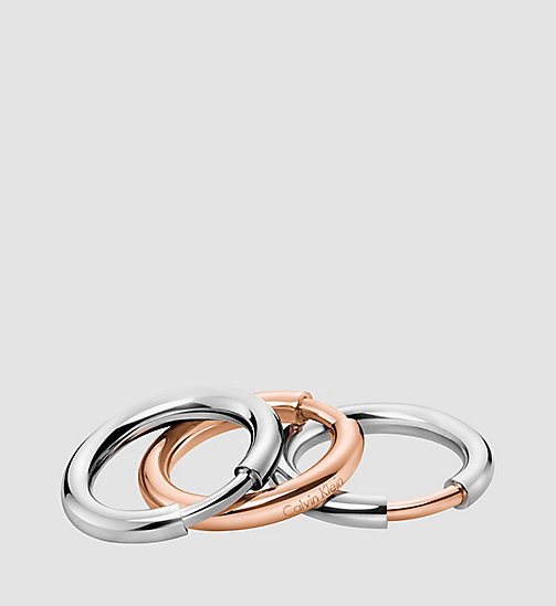 Ring - Calvin Klein Disclose - STAINLESS STEEL SILVER - CALVIN KLEIN  - main image
