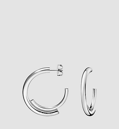 CALVIN KLEIN Earrings - Calvin Klein Scent KJ5GME0001SST