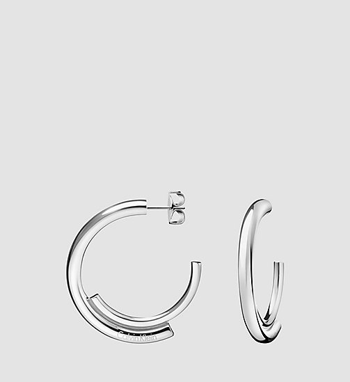 CALVINKLEIN Earrings - Calvin Klein Scent - STAINLESS STEEL - CALVIN KLEIN WATCHES & JEWELLERY - main image