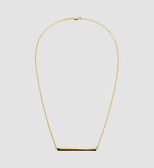 CALVINKLEIN Necklace - Calvin Klein Gorgeous - BLACK / YELLOW - CALVIN KLEIN NECKLACES - main image