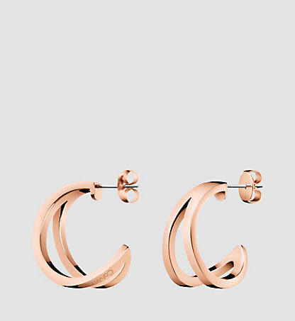 CALVIN KLEIN Earrings - Calvin Klein Outline KJ6VPE1001PGD