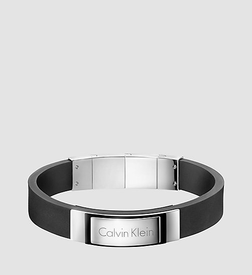 CALVINKLEIN Armband - Calvin Klein Dapper - SST / BLACK - CALVIN KLEIN WORK TO WEEKEND - main image