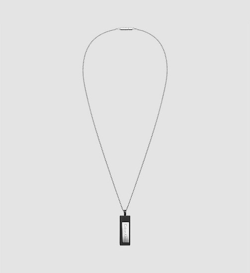 CALVINKLEIN Pendant - Calvin Klein Dapper - SST / BLACK - CALVIN KLEIN GIFTS FOR HIM - main image