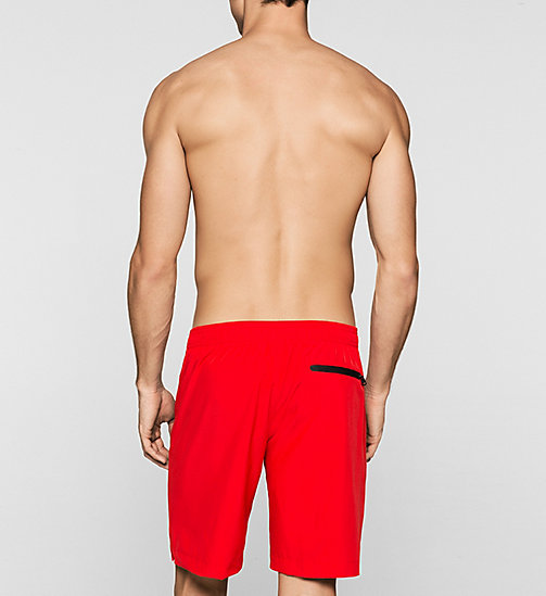 CALVINKLEIN Boardshort - Intense Power - RACING RED - CALVIN KLEIN SHORTS DE BAIN - image détaillée 1