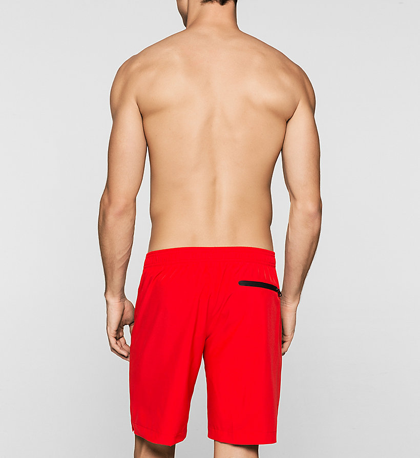 CALVINKLEIN Boardshorts - Intense Power - RACING RED - CALVIN KLEIN SWIMWEAR - detail image 1
