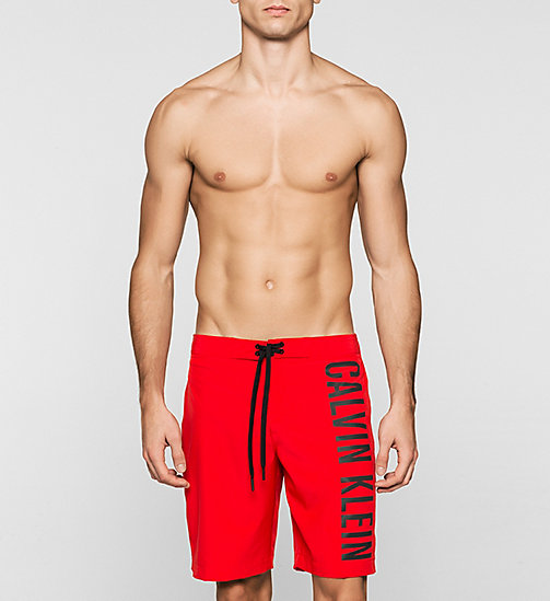 CALVINKLEIN Boardshort - Intense Power - RACING RED - CALVIN KLEIN SHORTS DE BAIN - image principale