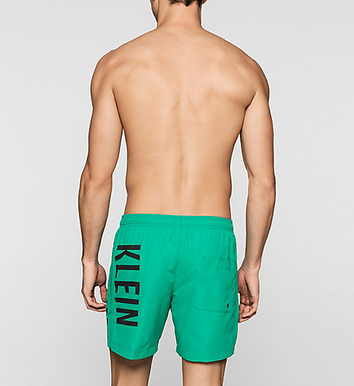 CALVINKLEIN Swim Shorts - Intense Power - SIMPLY GREEN - CALVIN KLEIN SWIMWEAR - detail image 1