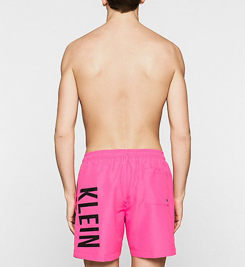 Swim Shorts - Intense Power - FUCHSIA PURPLE - CALVIN KLEIN SWIMWEAR - detail image 1