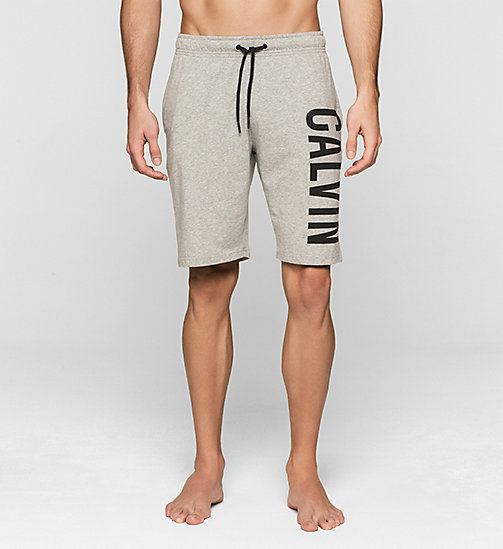 CALVINKLEIN Korte broek - Intense Power - LIGHT GREY HEATHER - CALVIN KLEIN KORTE BROEKEN - main image