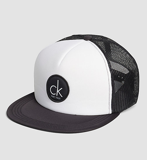 CALVINKLEIN Trucker Cap - CK NYC - WHITE - CALVIN KLEIN SHOES & ACCESSORIES - main image