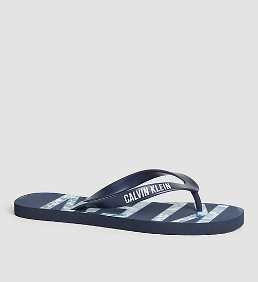 CALVINKLEIN Slipper - Intense Power - BLUE SHADOW - CALVIN KLEIN SCHUHE - main image